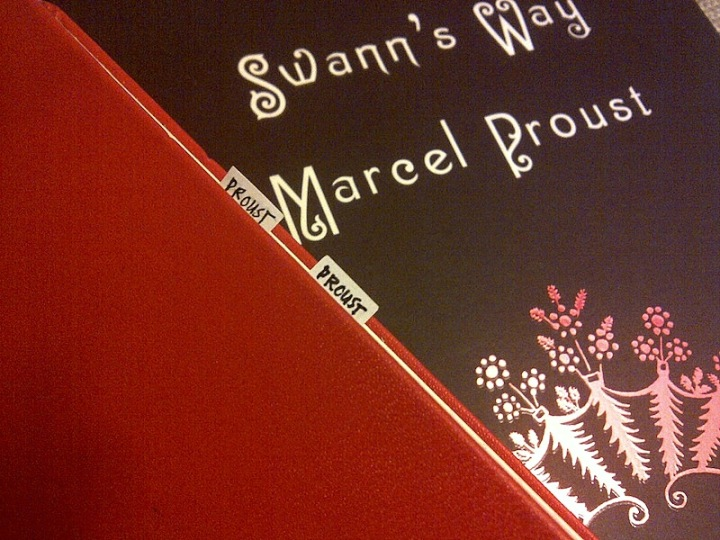 01062013: With Proust and Franzen