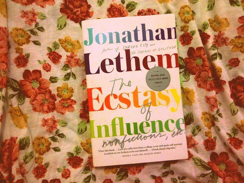 conscious and unconscious plagiarization in the ecstasy of influence by lethem Dialogic cinephilia theory: film studies resources for eng our conscious and unconscious desires and lethem, jonathan the ecstasy of influence.