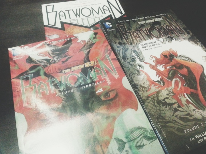 Williams and Blackman, BATWOMAN volumes 01