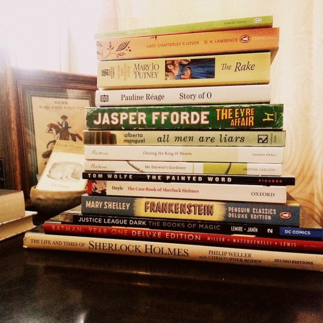 ex01 — January Books Read