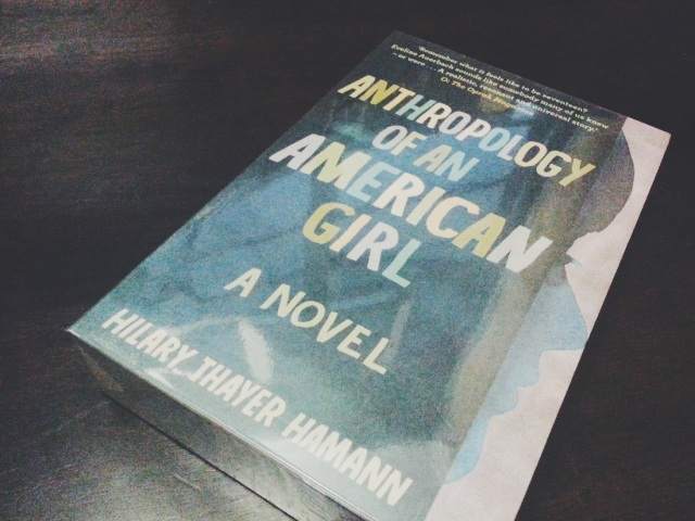 HAMANN — Anthropology of an American Girl 01