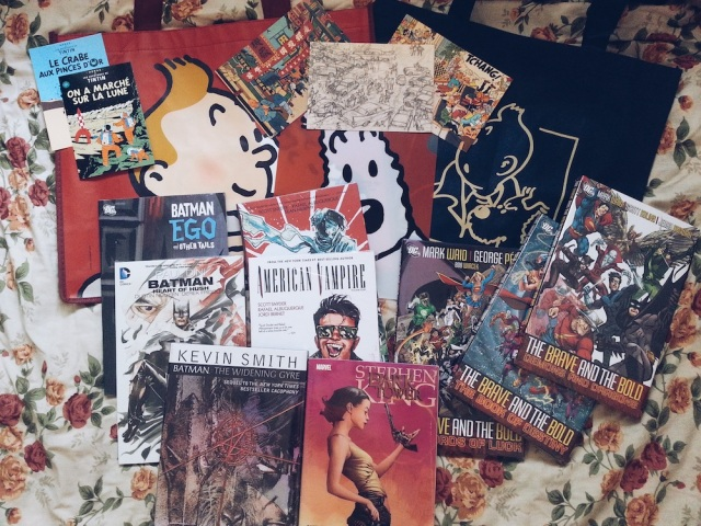 HAUL — Fully Booked Comic Book Day May 2014 01