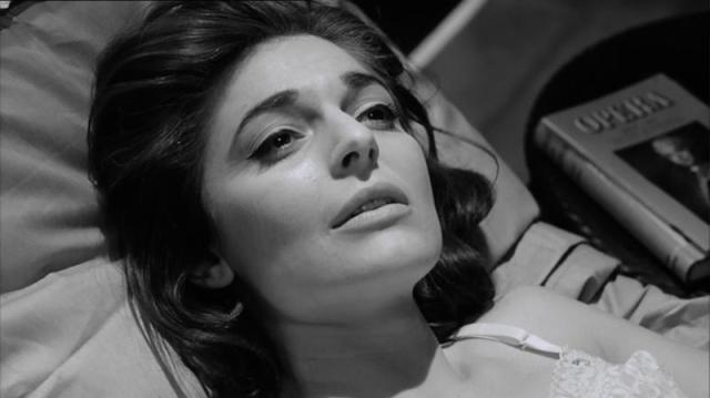 Anne Bancroft in The Pumpkin Eater, 1964.
